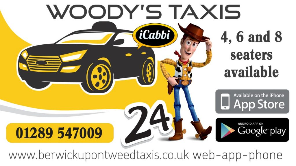 Taxi Service in Berwick upon Tweed